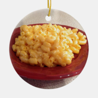 Makkaroni mit Käse Weihnachtsbaum Ornament