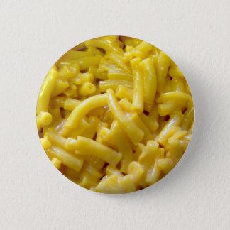 Makkaroni mit Käse Runder Button 5,1 Cm