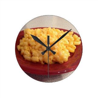 Makkaroni mit Käse Uhr