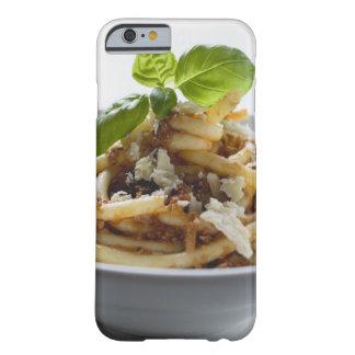 Makkaroni mit zerkleinern Soße und Käse Barely There iPhone 6 Hülle