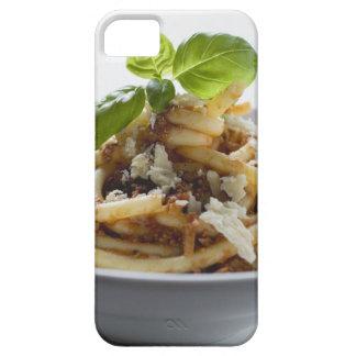 Makkaroni mit zerkleinern Soße und Käse iPhone 5 Case