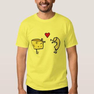 Makkaroni-u. Käse-Liebe-T - Shirt