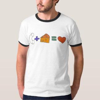 Makkaroni-u. Käse-Shirt T Shirt