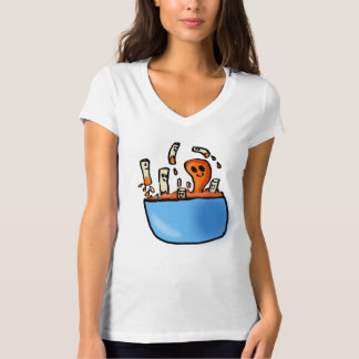 Makkaroni-und Käse-Damen-Shirt T-Shirt