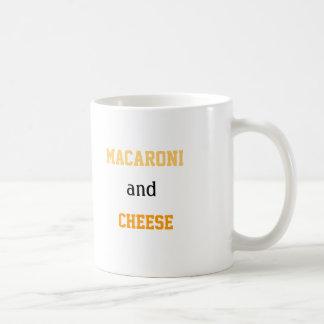 Makkaroni-und Käse-Liebe-Kaffee-Tasse Tasse