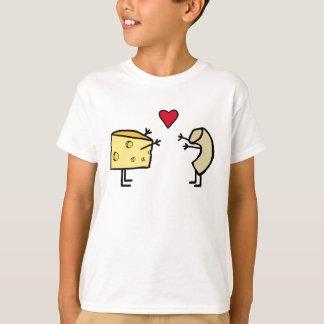 Makkaroni-und Käse-Liebe-T - Shirt