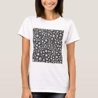 Makro graue Gruppen T-Shirt