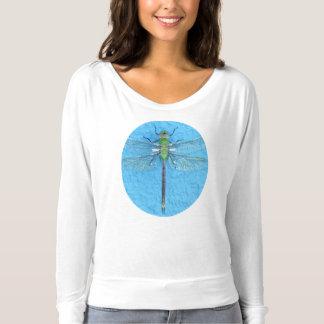 Makro grüne Libelle T-shirt
