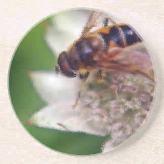 Makrodrohne-Blume - Version 2 Untersetzer
