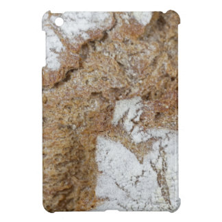 MakroFoto der Oberfläche des braunen Brotes iPad Mini Hülle