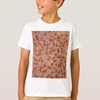 MakroFoto eines rostigen Eisenblattes T-Shirt