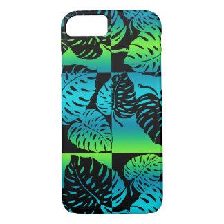 Makua Monstera hawaiische gestreifte Mischung iPhone 8/7 Hülle