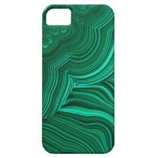 Malachit-Scheibe-Mineralsteintelefon-Kasten Barely There iPhone 5 Hülle