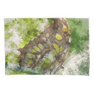 malachit Schmetterling Kissenbezug