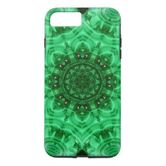 Malachit-Stern-Mandala iPhone 8 Plus/7 Plus Hülle