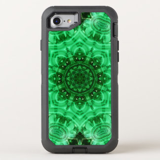 Malachit-Stern-Mandala OtterBox Defender iPhone 8/7 Hülle