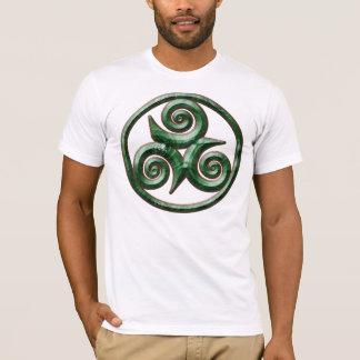 Malachit Triskel T-Shirt