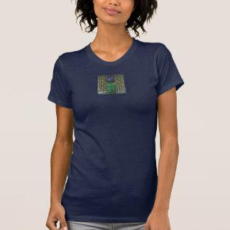 Malachit und Mondsteine T-Shirt