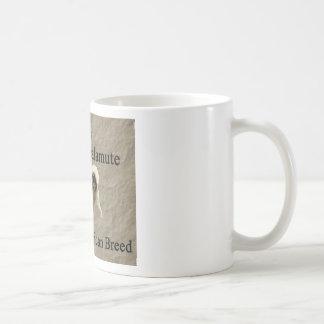 Malamute-gebürtige Zuchtkopie Kaffeetasse
