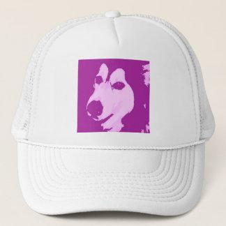 Malamute-Hund Truckerkappe