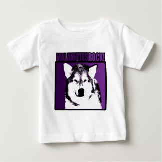 Malamutes-Felsen! Baby T-shirt