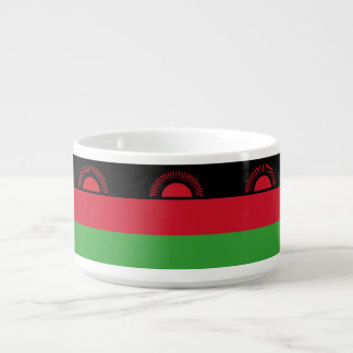 Malawi-Flagge Schüssel