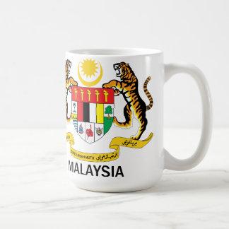 MALAYSIA - Emblem/Flagge/Symbol/Wappen Kaffeetasse