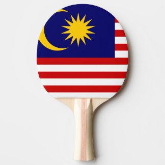 Malaysia-Flagge Tischtennis Schläger