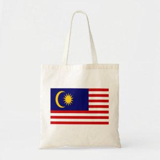 Malaysia-Flagge Tragetasche