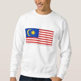 Malaysia - malaysische Staatsflagge Sweatshirt