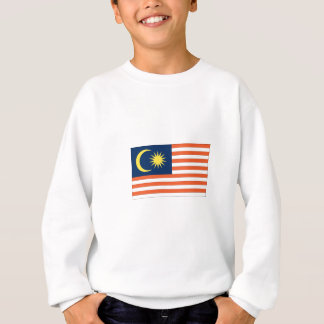 Malaysische Flagge Sweatshirt