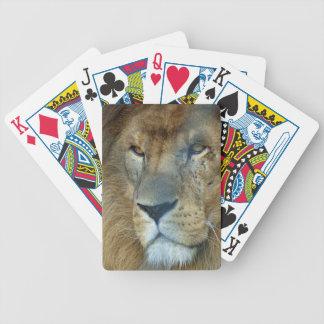 Male Lion (Loewe) Bicycle Spielkarten