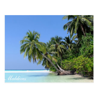 Malediven- - Athurugainselpostkarte Postkarte
