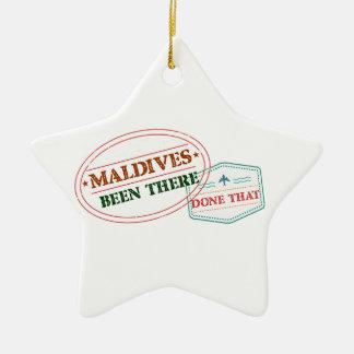 Malediven dort getan dem keramik ornament