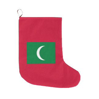 Malediven-Flagge Großer Weihnachtsstrumpf