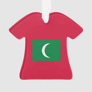 Malediven-Flagge Ornament