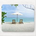 Malediven-Strand Mauspads