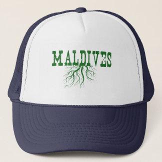 Malediven-Wurzeln Trucker Mützen