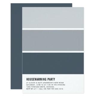 Malen Sie Chiphousewarming-Party Einladung