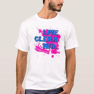 malen Sie Flecken T-Shirt