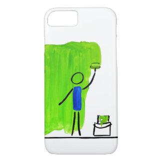 malen Sie Grün iPhone 8/7 Hülle