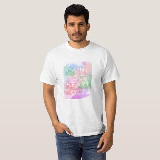 Malen Sie Ihr Herz heraus T-Shirt