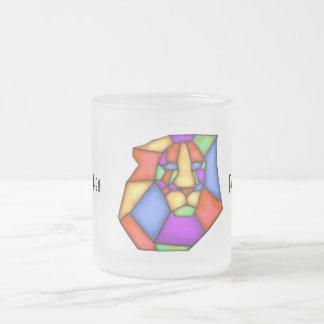 Malen Sie Ihre Liebe-mattierte GlasTasse Mattglastasse
