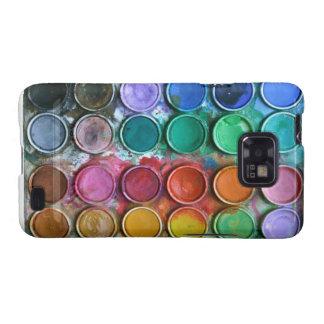 Malen Sie Kasten Farbkasten-Samsung-Galaxie-S Samsung Galaxy SII Cover