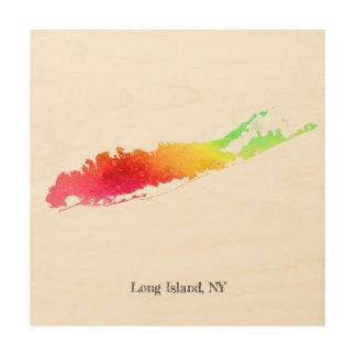 """Malen Sie Long Island 12"""" X12"""" Holzwanddeko"""