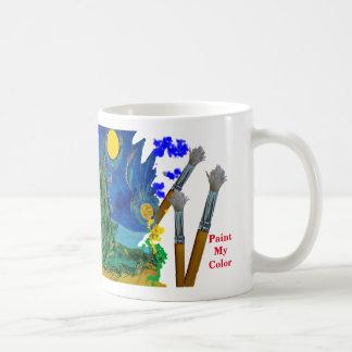 Malen Sie meine Farbe Kaffeetasse