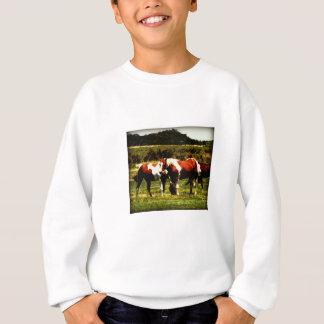 Malen Sie Pferde Sweatshirt