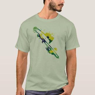 Malen Sie platsches Trombone-Shirt T-Shirt