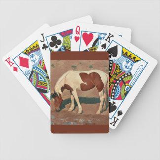 Malen Sie Pony Bicycle Spielkarten