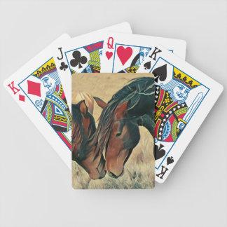 Malen Sie Ponys Bicycle Spielkarten
